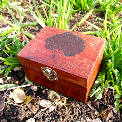 Tree Card Deck Storage Box