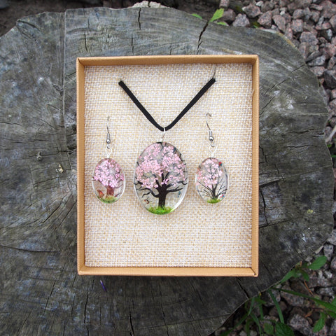 Pressed Flower Set - Pale Pink