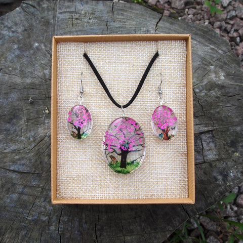 Pressed Flower Set - Pink