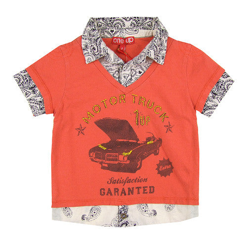 Boys *Truck* Short Sleeve Top