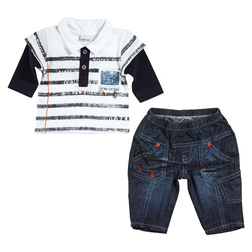3 Pommes *In My Jeans* Boys 2pc Pant Set