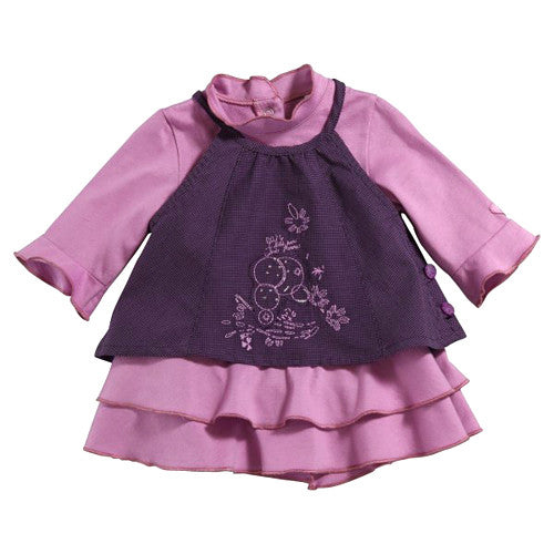 NEW 3 Pommes *Innocence* Girls 2-in-1 Dress Set