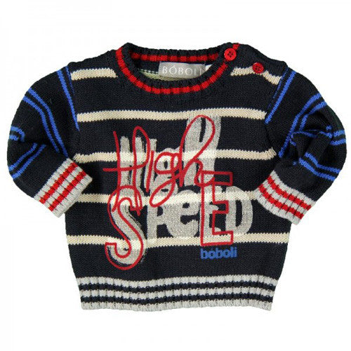 Boboli *Speed* Boys Knit Sweater