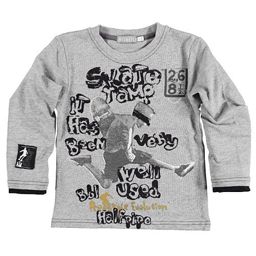 "Boboli ""Skate"" Long Sleeve Top"