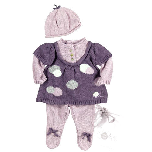 Boboli *Neah* Baby Girl Knitted Set/ Take Home Outfit