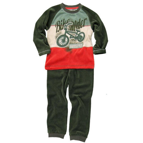 Boboli *Bike* Boys Velour 2pc Set