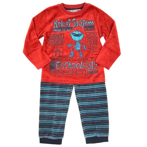 Boboli Soft Boys2 Velour 2pc Lounge Set
