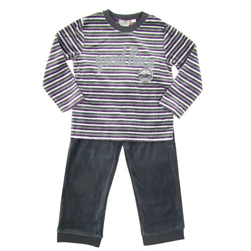 Boboli Soft Boys Velour 2pc Lounge Set