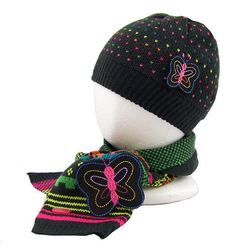 Boboli *Eva* Girls 2pc Hat Set