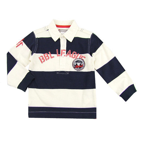 Boboli *James* L/S Polo Shirt
