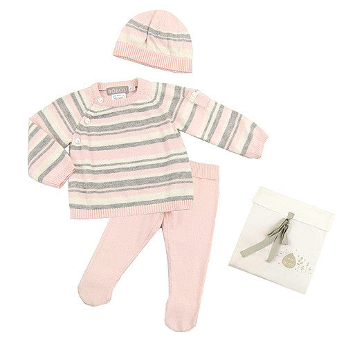 Boboli *Katie* Girls 3pc. Knitted Set