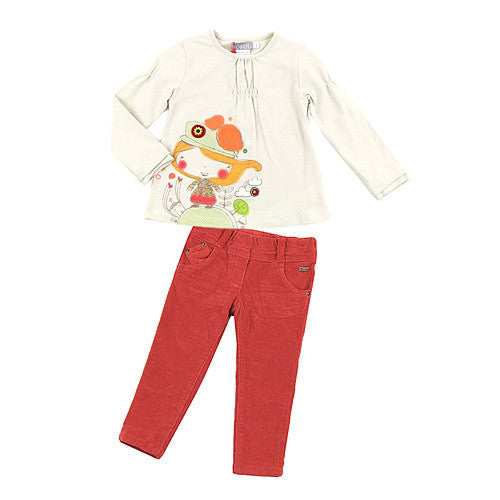 Boboli *Janet* Girls Cord Pants