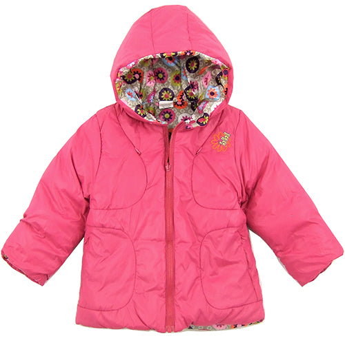 "Boboli ""Ema"" Girls (little kids/big kids) Reversible Winter Jacket"