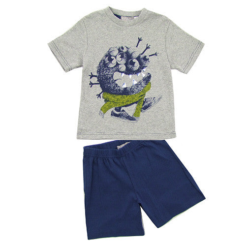 "Boboli ""MonSTR* Boys 2pc Shorts Set"
