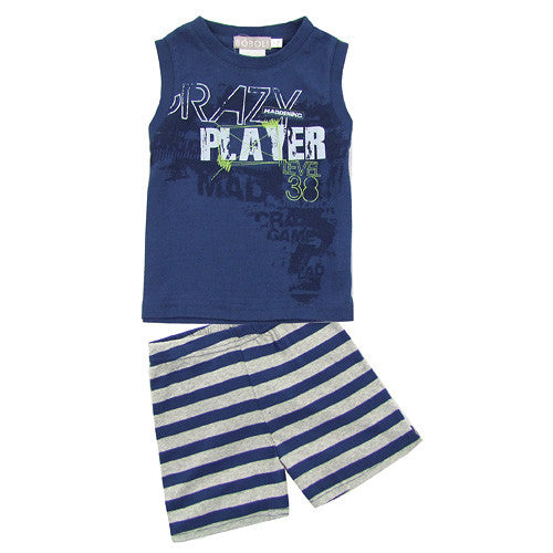Boboli *Player* Boys 2pc Shorts Set