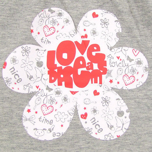 Boboli *Love* Girls 2pc Shorts Set