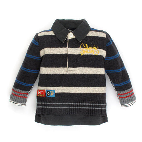 **** 60% OFF ****  Catimini *Spirit* Boys Knit Sweater