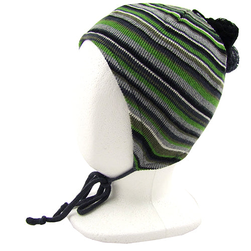 "MELTON ""Fred"" Boys ( baby/ little kids) Winter Hat with Ties"