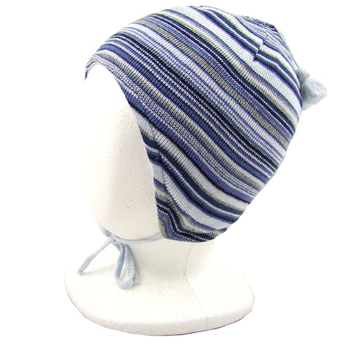 "MP Hempels ""Dan"" Boys ( baby/ little kids) Winter Hat with Ties"