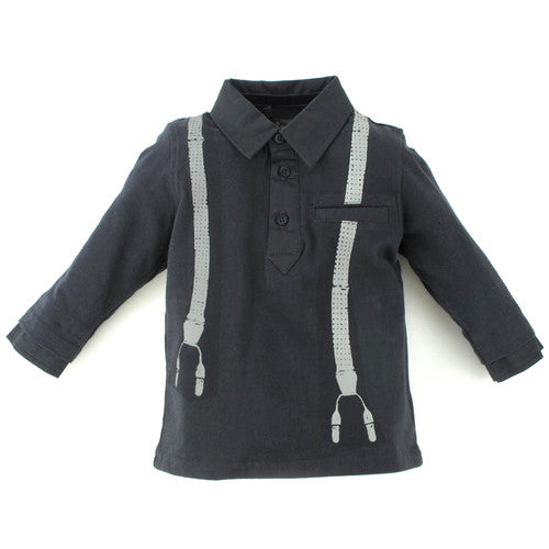 Jean Bourget *Stefan* Boys L/S Polo Shirt