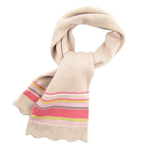 "Kenzo ""Dove"" Girls Wool Winter Scarf"