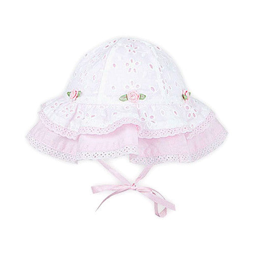 Le Top *Darling* Girls Eyelet Sunhat