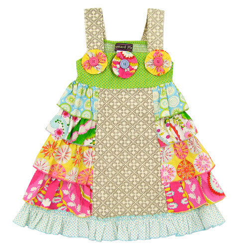 Mustard Pie Girls Sundress