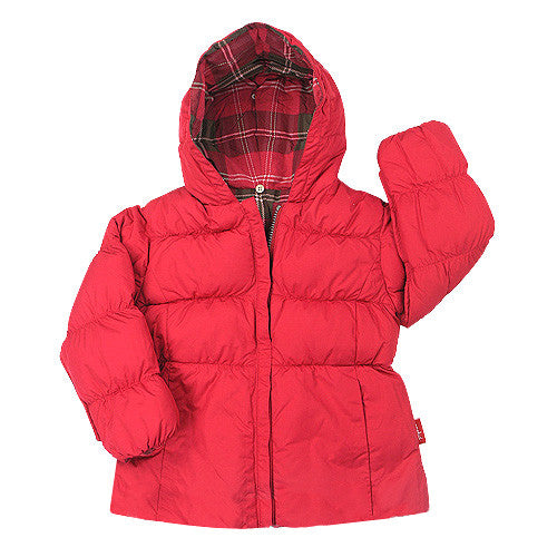One Kid *Scarlet* Girls Down Jacket