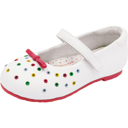 Pediped Lillian White Multi (Flex) Shoe