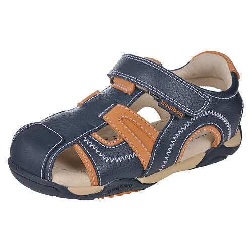Pediped Brody Navy/Orange (Flex) Shoe