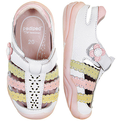 Pediped Mimi White (GG) Shoe