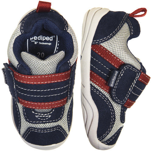 Pediped Adrian Navy (GG) Sneaker