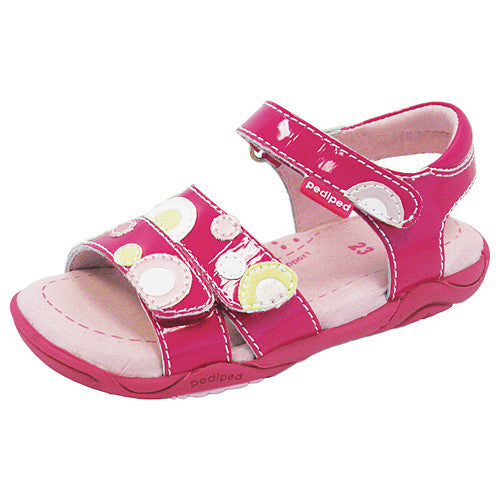 Pediped Gillian Fuchsia (Flex) Sandal