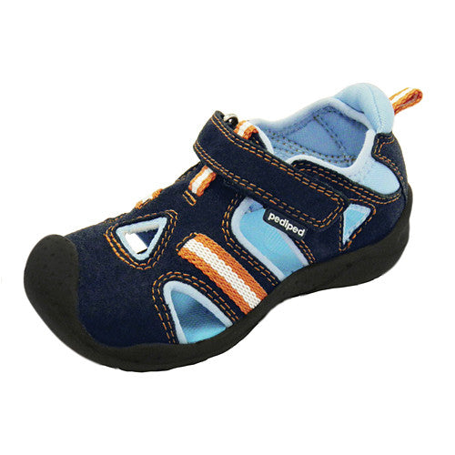 Pediped Amazon Navy (Flex) Sandal