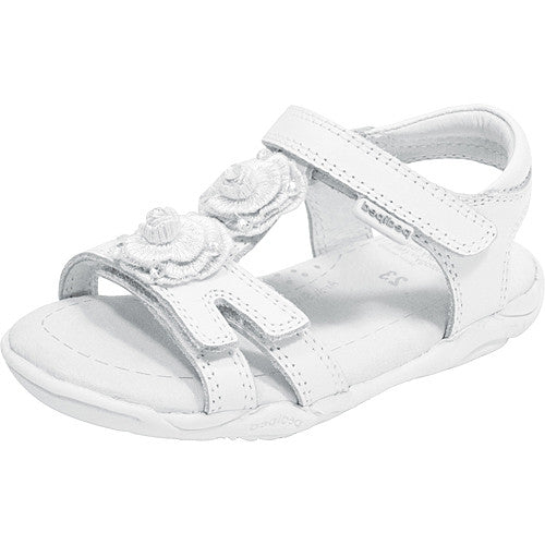 Pediped Lulu White (Flex) Sandal