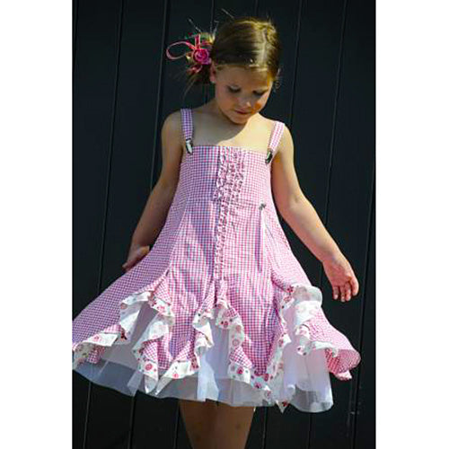 Pom Pom *Nona* Girls Summer Dress