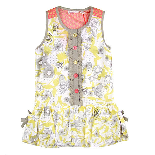 Donilli Girlls Summer Bubble Dress/Tunic