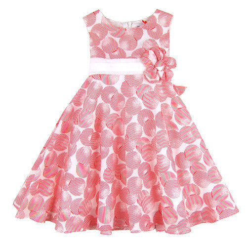 Donilli Girls Summer Party Dress
