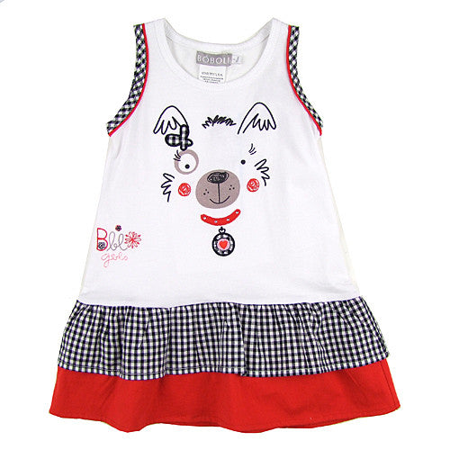Boboli *Scottie* Girls Summer Dress