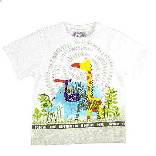 Boboli *Safari* Boys Short Sleeve Top