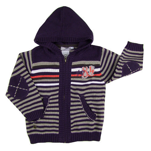 Boboli **84* Boys Hooded Cardigan