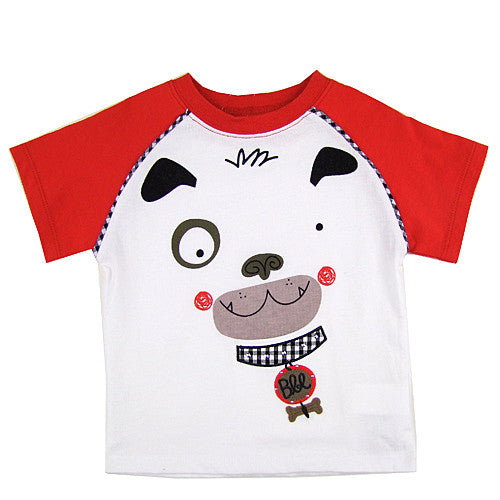 Boboli *Puppy* Boys Short Sleeve Top