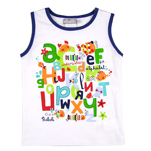 Boboli *ABC* Boys Tank Top