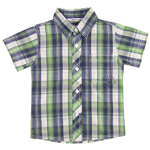 3 Pommes *William* Boys S/S Shirt