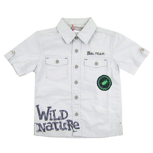 Boboli *Wild Nature* Boys S/S Shirt