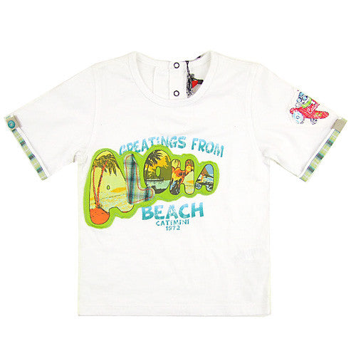 **** 60% OFF **** Catimini *Justin* Boys S/S Shirt