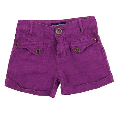 Jean Bourget *Lauren* Girls Linen Shorts