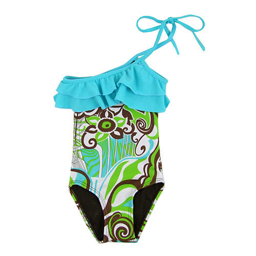 Submarine *Miami2* Girls 1pc Swimsuit
