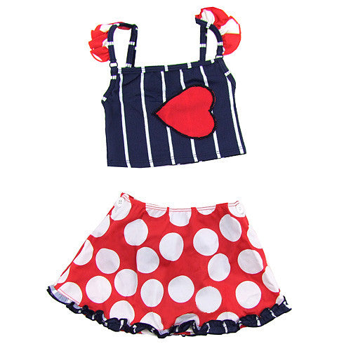 Submarine *Patricia* Girls 3pc Swimsuit Set