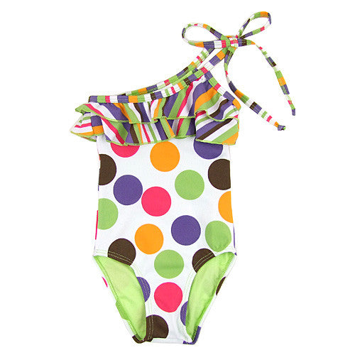 Submarine *Sally* Girls 1pc Swimsuit
